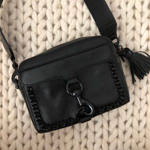 Rebecca Minkoff Woven Chain Camera Bag